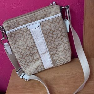 Coach Bags - Tan Coach Crossbody Purse